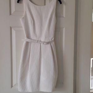 White house/BLack Market white dress